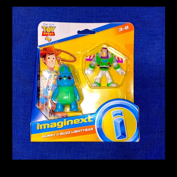 Toy Story 4 Imaginext Bunny and Buzz Lightyear